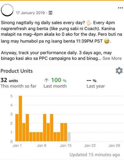 Filipino Amazon Masterclass Student Testimonial