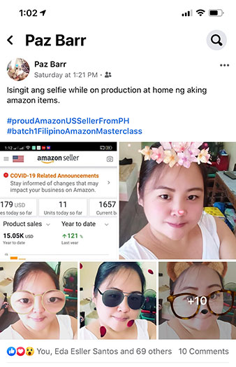 Amazon Nation Student Sales