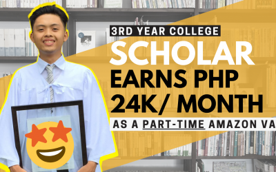 College Student Earns Php 24K per Month Working as a Part-time Amazon Virtual Assistant